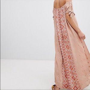 NEW Flynn Skye Bandeau Split Maxi Dress